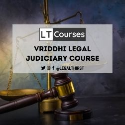 Vriddhi Legal Judiciary Course